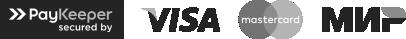 Логотипы методов оплаты магазина Мера Газа