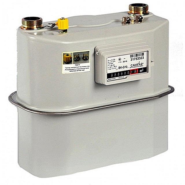 Мембранный счетчик газа BK-G10 СамГаз