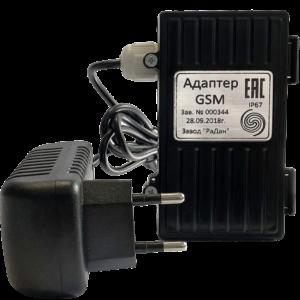 Адаптер GSM — ООО «Газпром межрегионгаз Санкт-Петербург» (Внешнее питание)