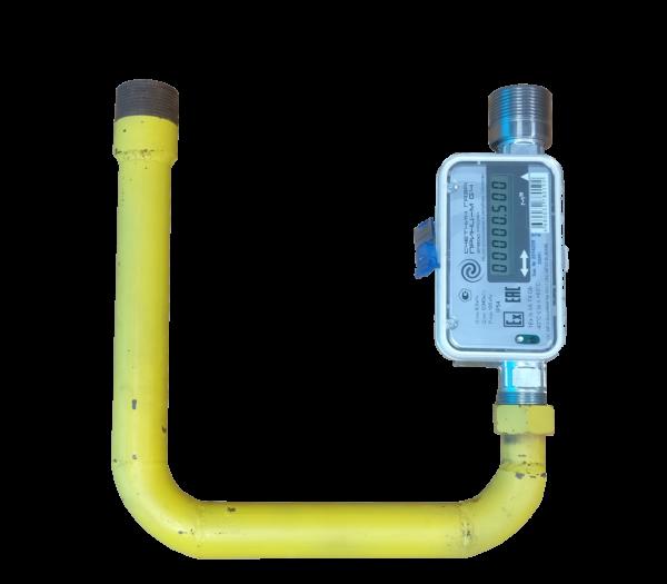 Замена счетчика газа ВК G4